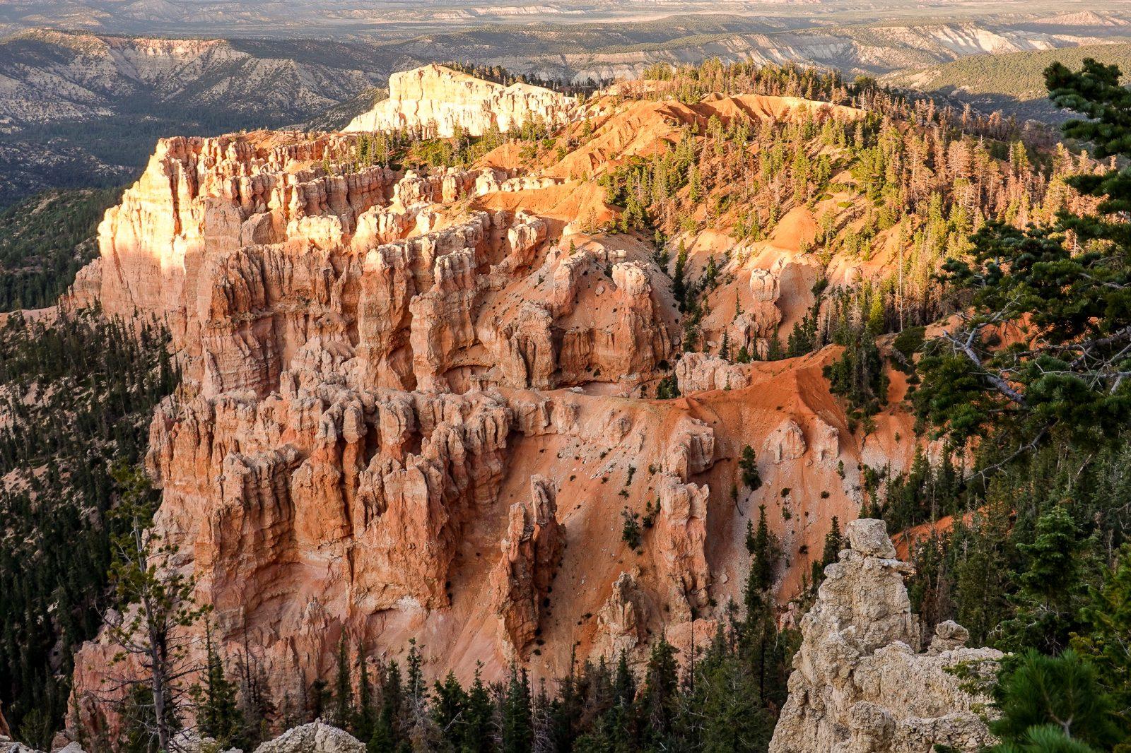 utsikt i Bryce Canyon