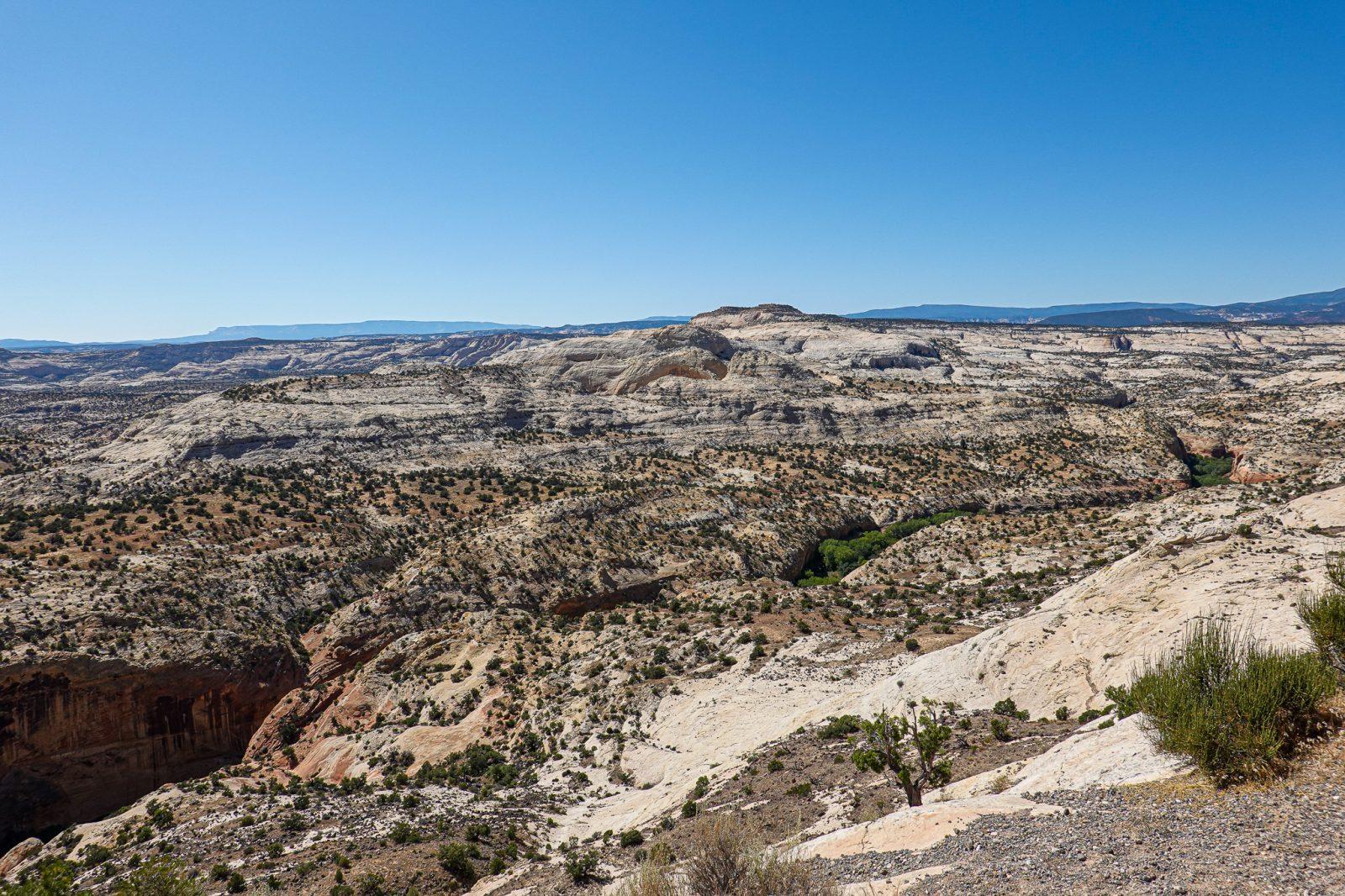 Boulder nationalpark Utah usa