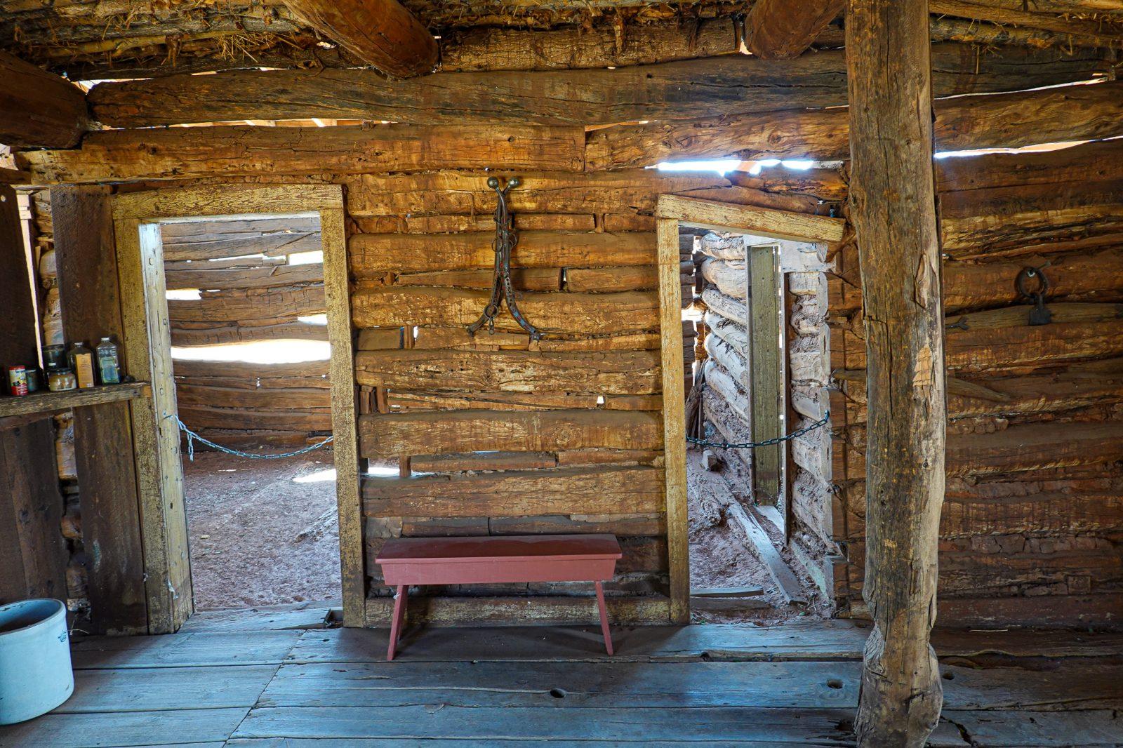 Museum i Bluff Fort Utah USA