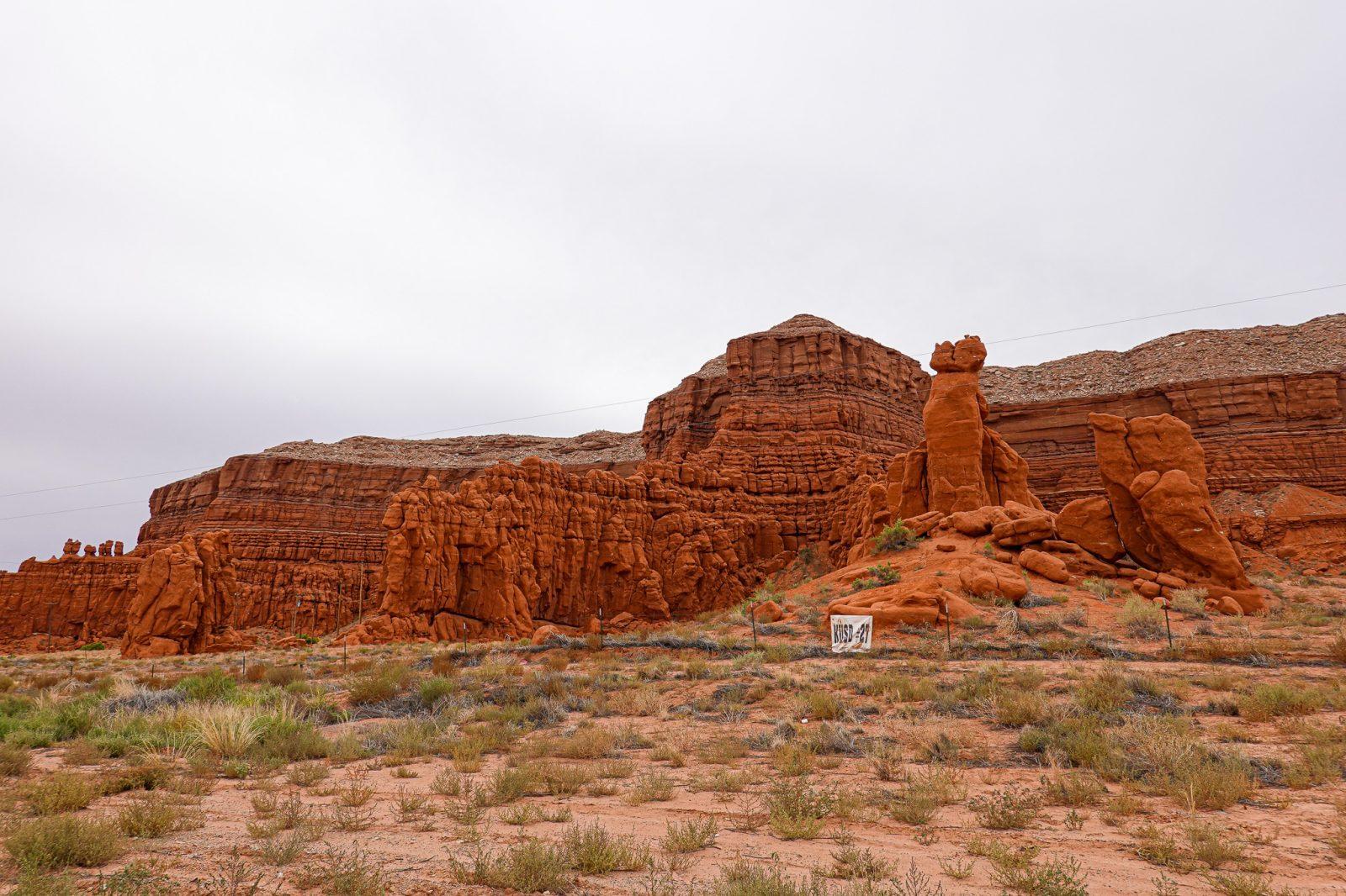 røde fjellformasjoner Utah USA