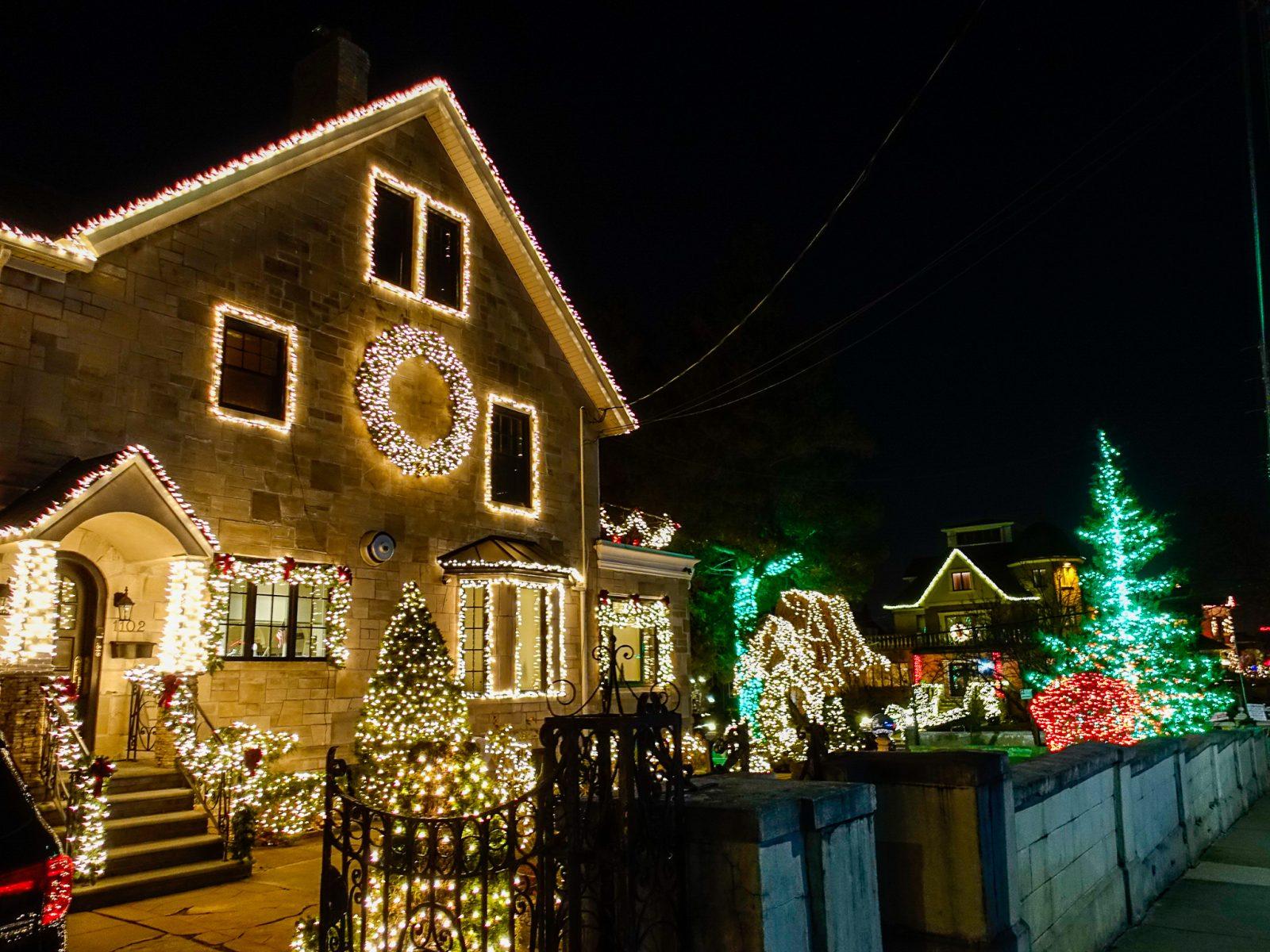 julevandring i julegater