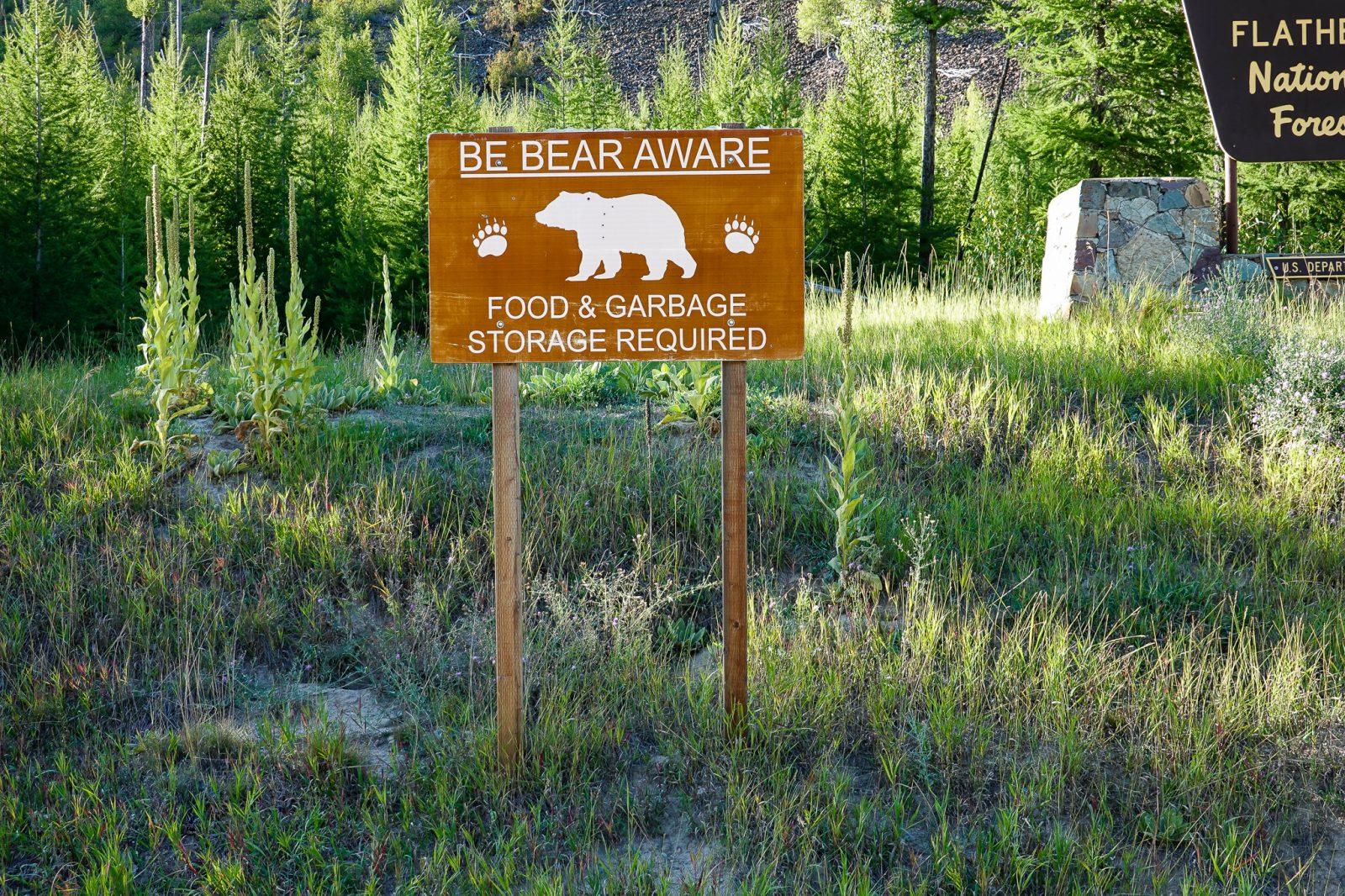 be bear aware i usa