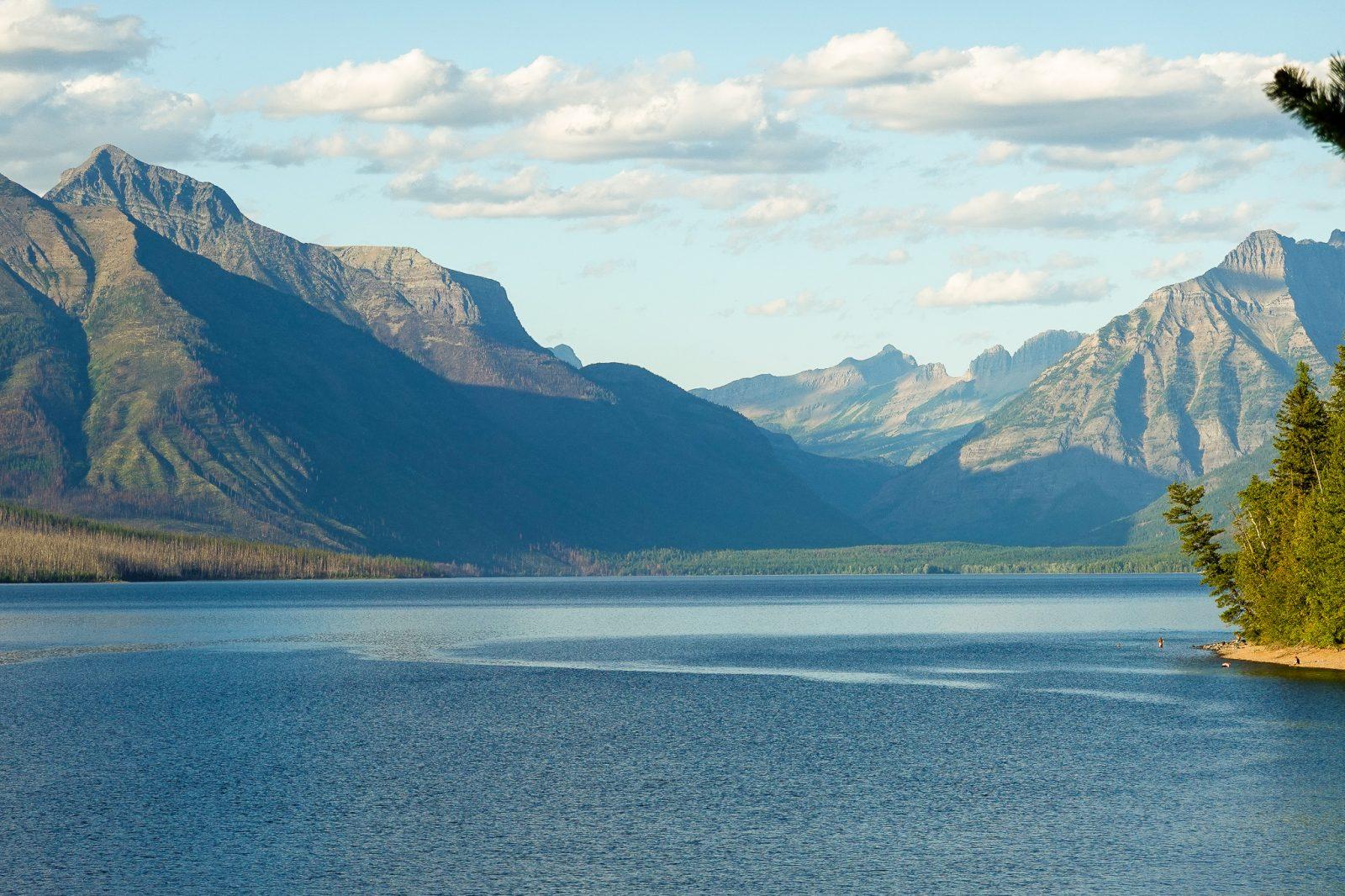 Bade i Glacier nationalpark