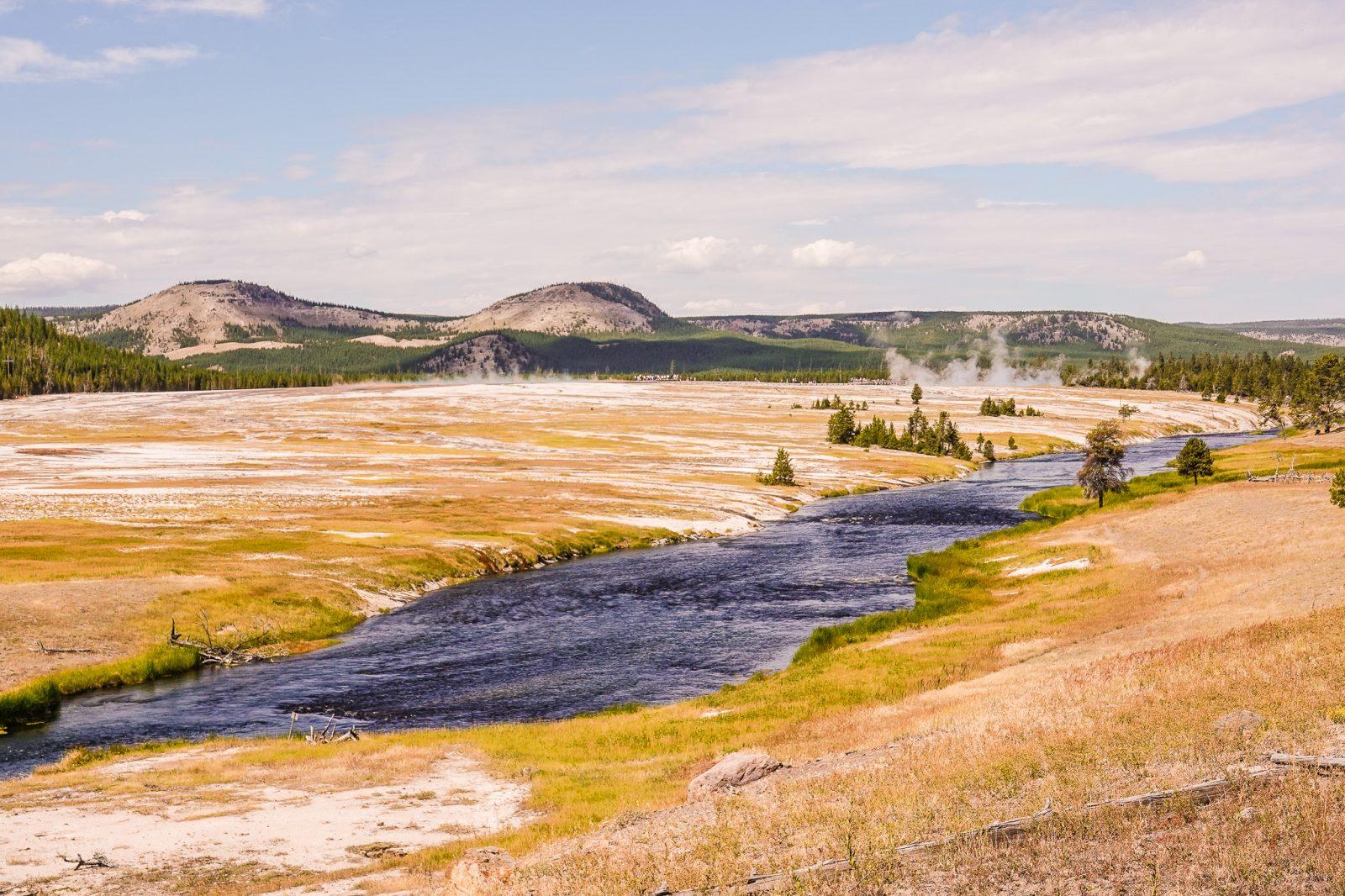 mange varme kilder i yellowstone usa