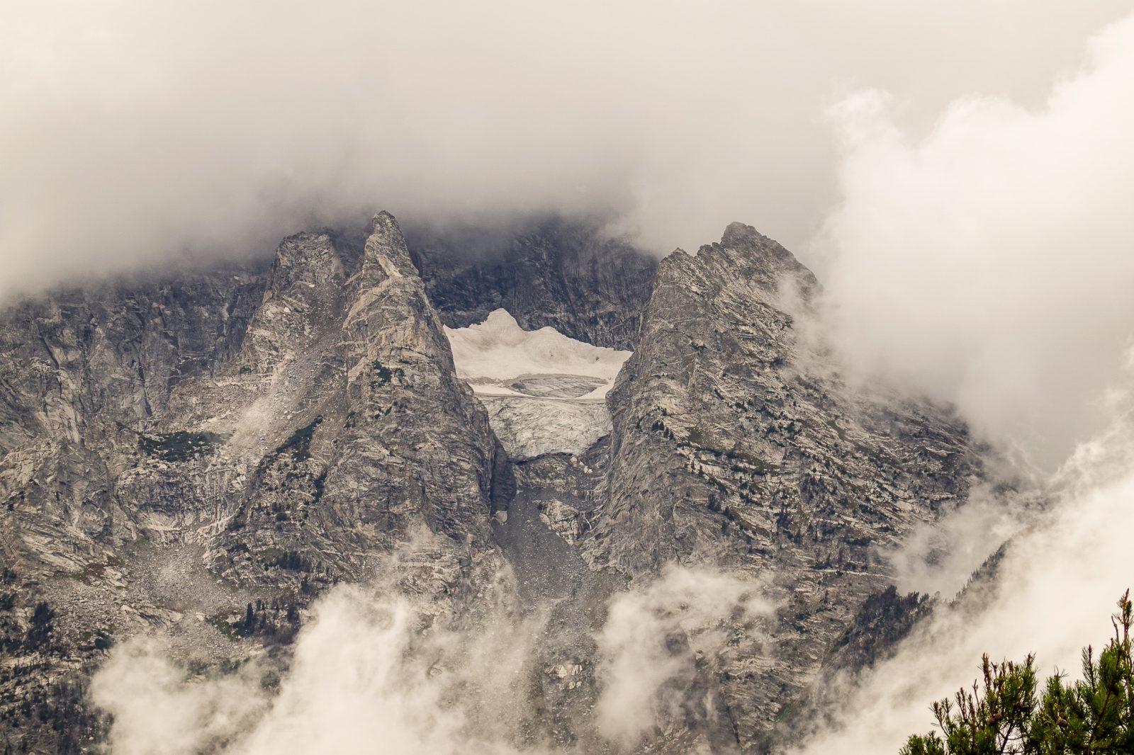 toppen av Teton nationalpark usa