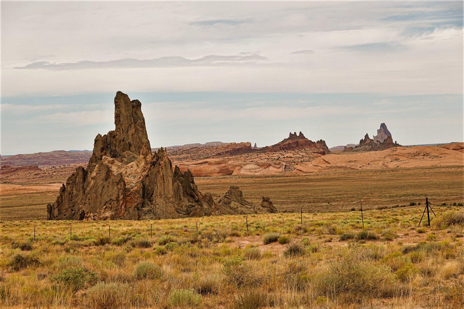 spisse fjell i Utah